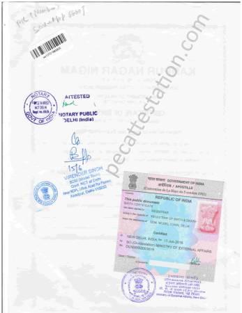 Birth Certificate Apostille in Hyderabad
