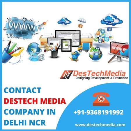 Destech Media | Contact Destect Media Company in Delhi NCR