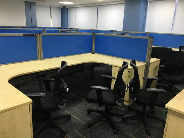 Fully furnished office space for rent in Vittal malya road