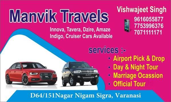 Hire Car Rental Services Provider in Varanasi | Manvik