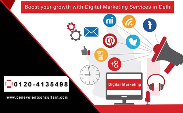 Boost your growth with Digital Marketing Services in Delhi