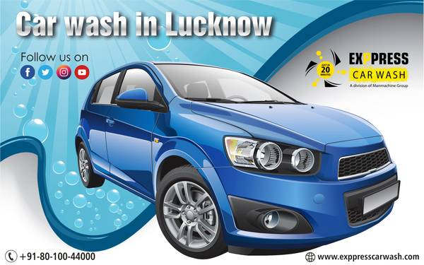 Get Shiny Look for Car with Best Car Wash in Lucknow