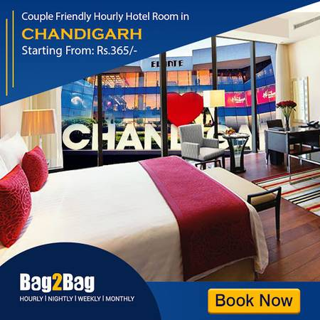 Book Couple Friendly Hotels in Chandigarh | Bag2Bag