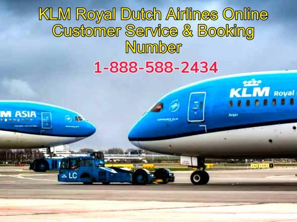 KLM Royal Dutch Airlines Online customer Service number