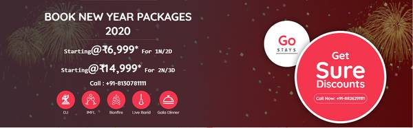 New Year Packages near Delhi
