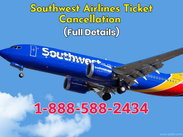 Cancel your Southwest Airlines Flight Ticket [easy refund]