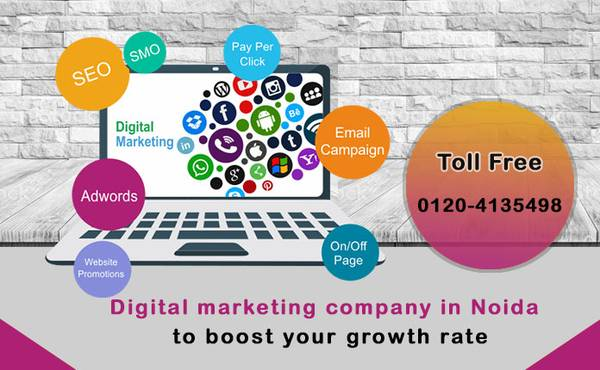 Digital marketing company in Noida to boost your growth rate
