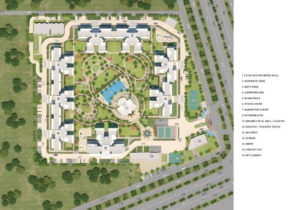 BESTECH PARK VIEW SANSKRUTI – Ready to move 3 & 4BHK at