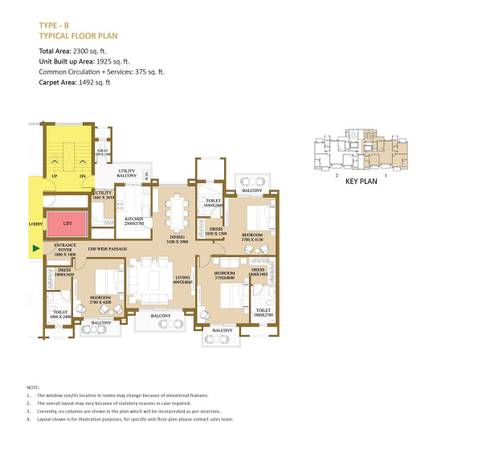 ATS Le Grandiose 3 & 4 BHK Apartments in Sector 150