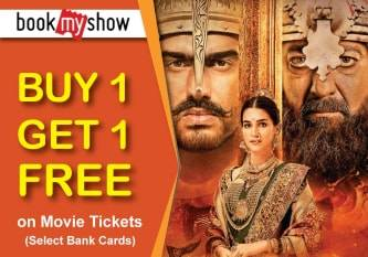 BookMyShow | Buy One Get One Free offer on Panipat -