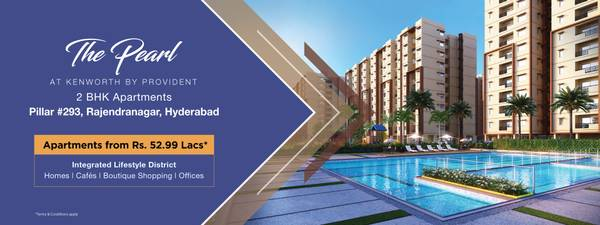 Flats for sale in Hyderabad   2 BHK flats in Rajendra Nagar