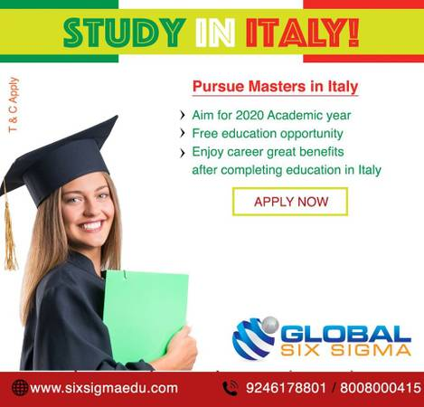How is Italy to pursue masters for Indian students? | Global