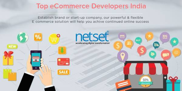 Top ecommerce developers in India - Netset Software