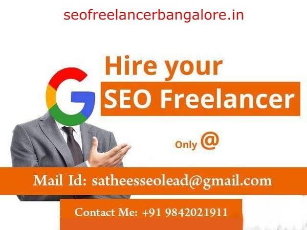 No.1 SEO Freelancer in Bangalore | 12 Yr Exp @ Bangalore