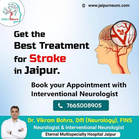 Get the best treatment for stroke in Jaipur.