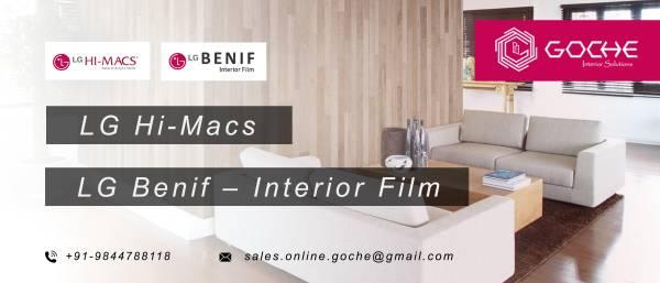 LG Hi-macs Distributor in Bangalore | Goche Interior