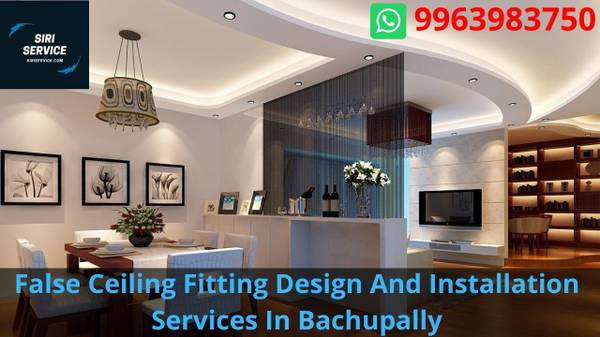 False Ceiling Fitting Design And Installation Services In