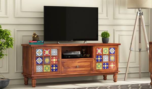 Sale upto 55% on Home Entertainment Cabinet for Living Room