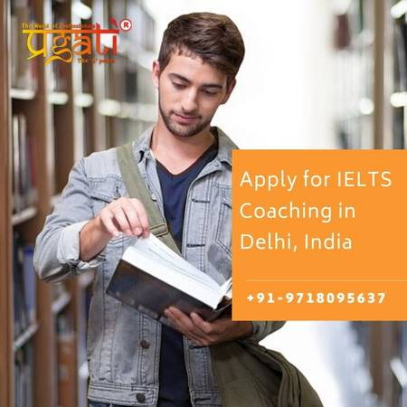 Apply for IELTS Coaching in Delhi, India