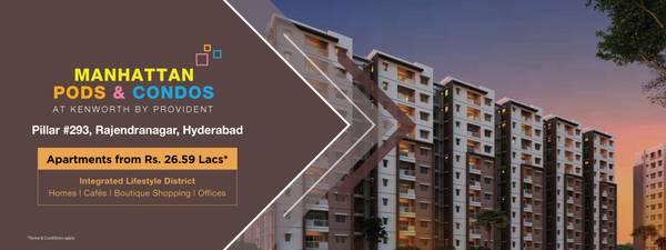 Hyderabad, Flats in Rajendra Nagar | Kenworth by Provident
