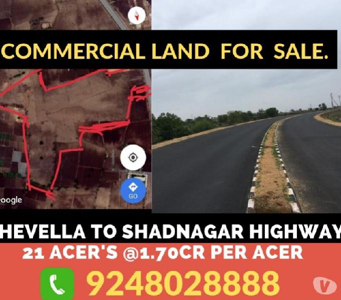 COMMERCIAL LAND FOR SALE IN CHEVALLA