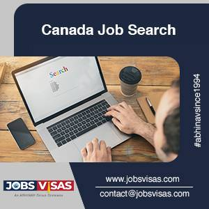 Start your Canada Job Search with JobsVisas