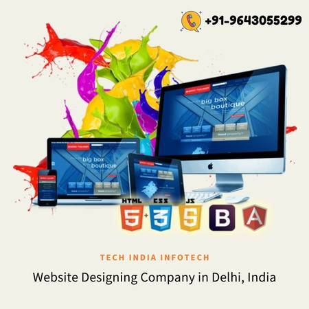 Top Website Designing Company in Delhi For Best Web Services