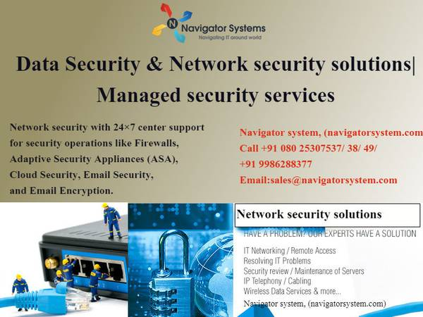 Data Security & Network security solutions  Managed security