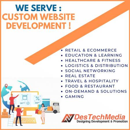 Destech media pvt. Ltd.-Website Designing Company-