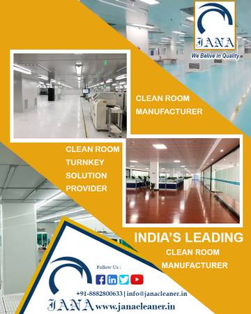 Clean Room Turnkey Solution Provider in India