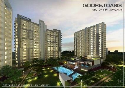 Godrej Oasis – Ready to Move 2/3BHK Luxurious Flats