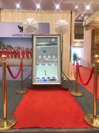 Magic mirror Photobooth in Chennai - Photo Booth Entertainer