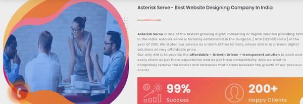 Asterisk Serve: Best Digital Marketing Company in Gurgaon