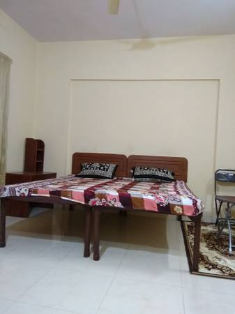 Furnished 1 room kitchen no brokerage  p.m.Manyata tech