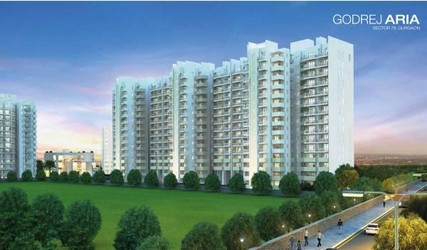 Godrej Aria: 2 & 3 BHK Luxury apartments in Gurgaon