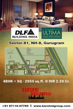 Sec 81 - 4BHK @ 2.26 Cr. - Dlf Ultima Luxury Flats Ultima