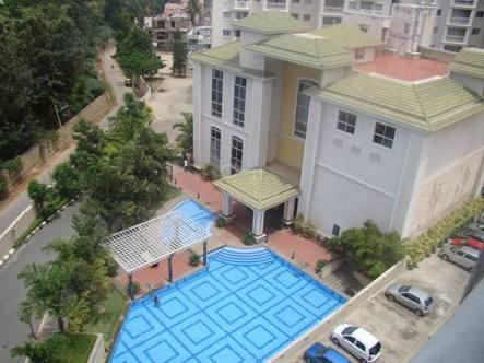 Prestige St. JOHN'S WOODS:3 BHK Semi Furnished Flat for RENT