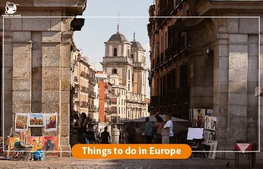 Things to do in Europe | Shoes on loose