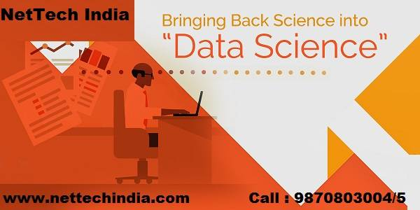 Get certified in Data Science from NetTech India