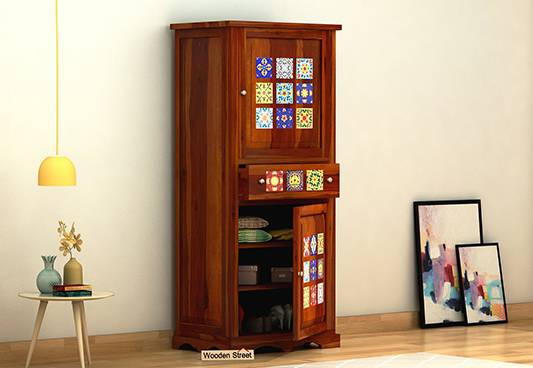 New arrival of single door wardrobe Online in India @ Wooden