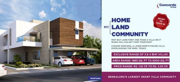 Villa Projects in Bangalore Kanakapura Road