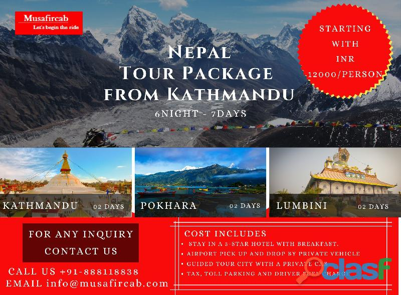 Nepal Tour Package from Kathmandu | Experience Nepal and its