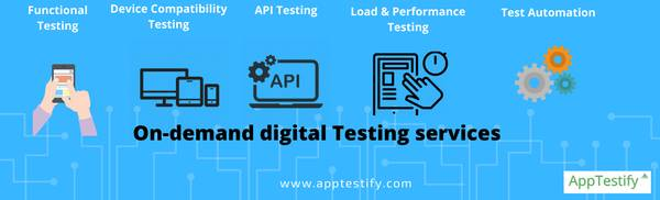 On Demand Testing Services AppTestify