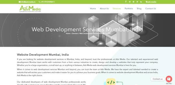 Web Development Company in Mumbai
