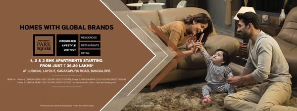 Luxury Apartments in Kanakapura Road | Provident Park Square