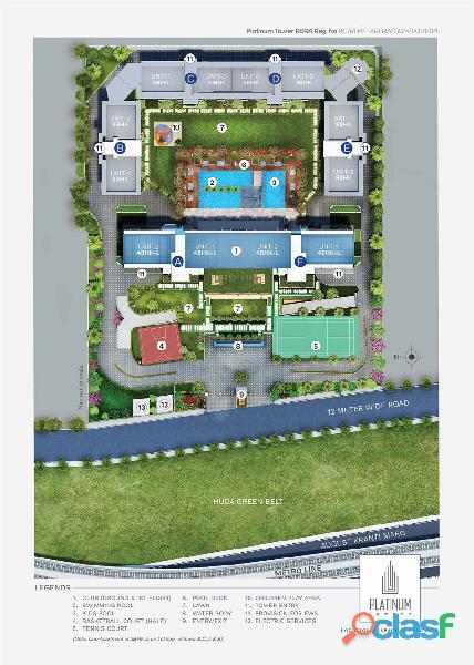Suncity Platinum Towers – 3& 4BHK Luxury Homes at MG Road