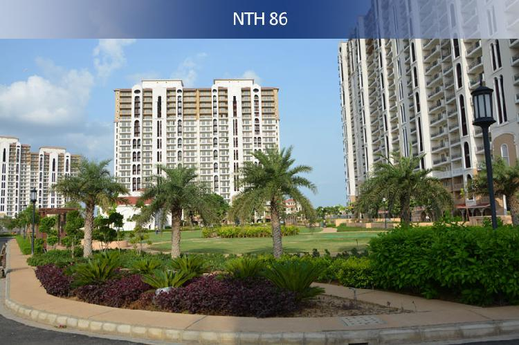 DLF New Town Heights 3 BHK SR Apartments in Gurgaon