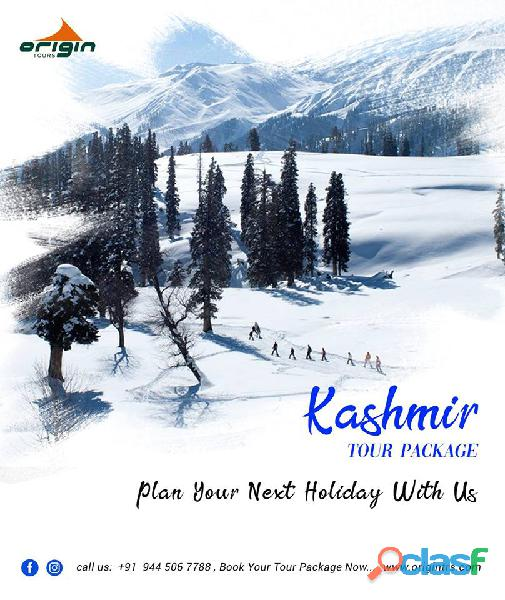 Origin tours gives you the best Kashmir tour packages.