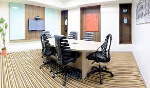sqft semifurnished office space for rent at langford rd