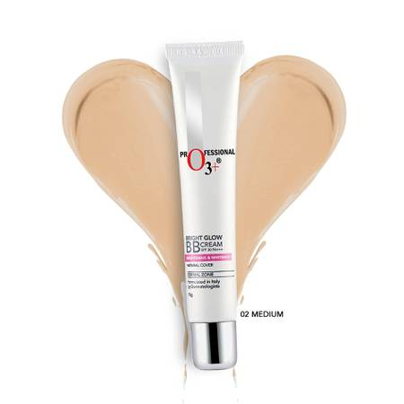 Buy O3+ Bright Glow BB Cream Medium 02 Online